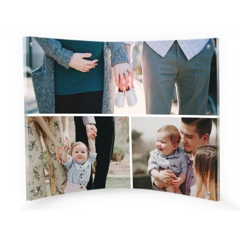 LightPix Everlasting Photos and Curved Acrylic Frame are unlike any photo display you've seen. This is the one that your guests will notice and ask about. Front and back, and from all angles, your image will be an instant focal point.