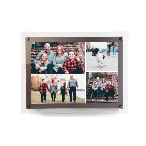 Your LightPix Everlasting Photo is going to even more luminous with the flick of a switch in an LED Backlit Frame.