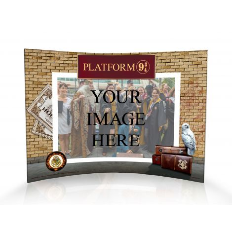 All aboard! Remember your time at Platform 9 ¾ before boarding the Hogwarts Express with this curved acrylic print. Upload your image to keep your memories with your wizarding friends alive forever!