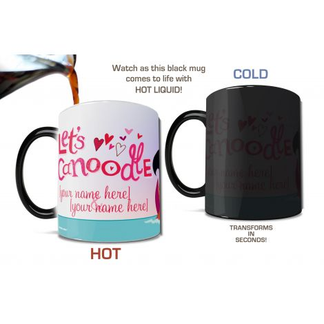 When it comes to expressing your true feelings, let the Looney Tunes do the talking for you with this personalized Morphing Mugs heat-sensitive mug featuring Pepe le Pew™ and Penelope Pussycat™.