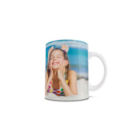 Our 11 oz white ceramic mugs are missing just one thing. Your beautiful images! Create your new favorite mug or give a special gift, perfect for anyone on your list.