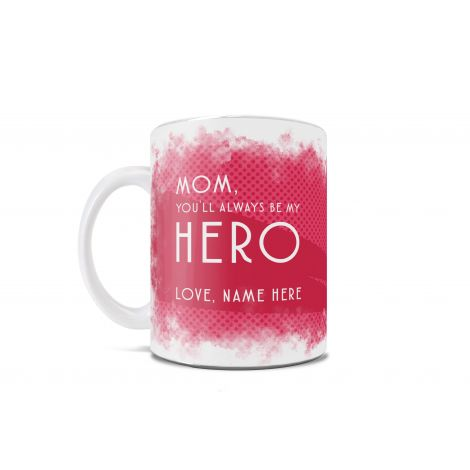 Do you have a super mom who almost seems inhuman because she's just so amazing? Or maybe your mom is a geek mom who loves comic books (which also makes her super amazing). Either way, this mug is for her. Or you, if you're that mom.