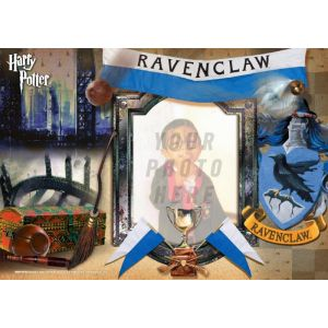 """Harry Potter Ravenclaw House 12"""" x 8"""" MightyPrint Wall Art. Personalize with your favorite witch, wizard or muggle by uploading a photo."""